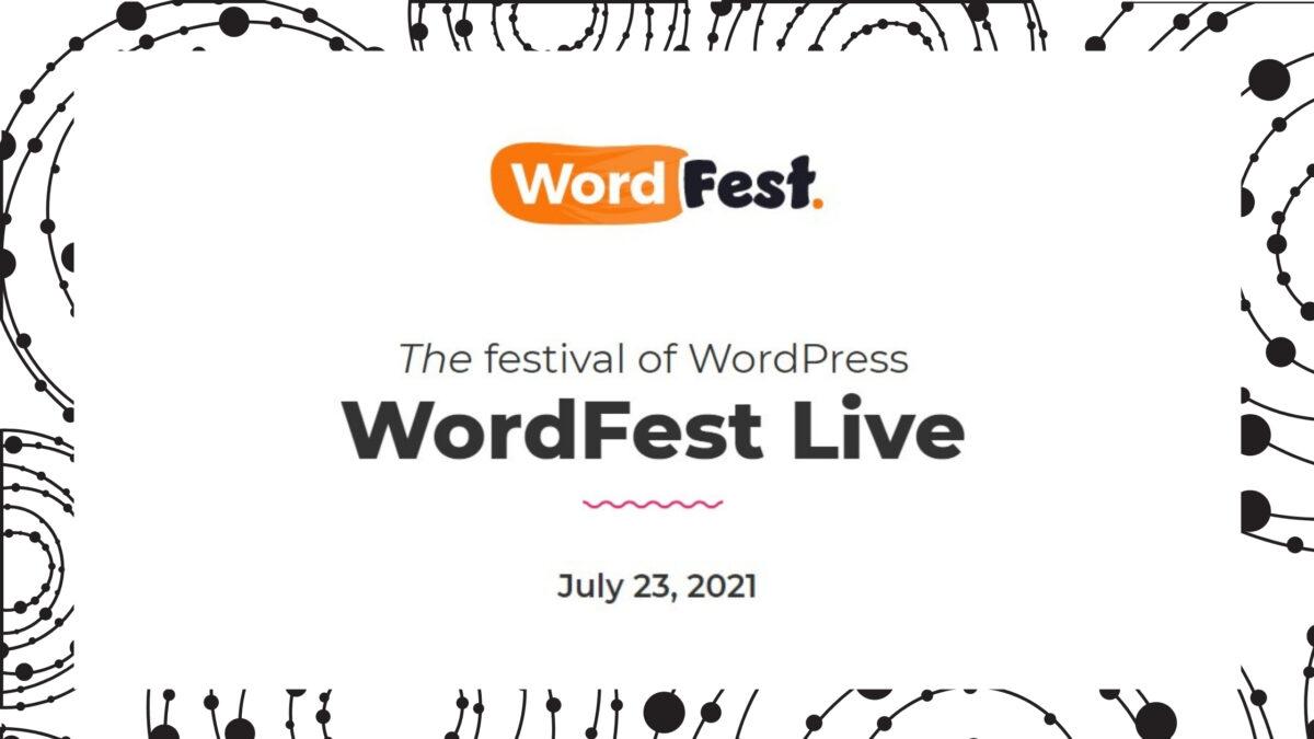 WordFestLive Blog banner